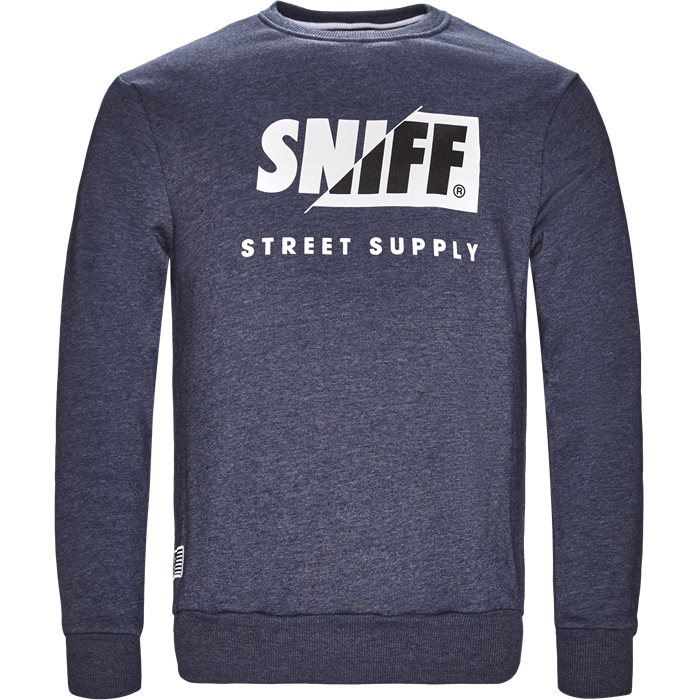 Calgary - Sweatshirts - Regular - Denim